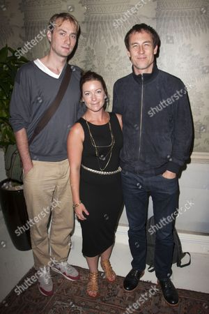 Oliver Chris, Katie Lyons and Tobias Menzies