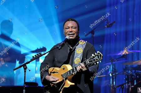 Editorial picture of Georges Benson in concert at Olympia, Paris, France - 03 Jul 2013