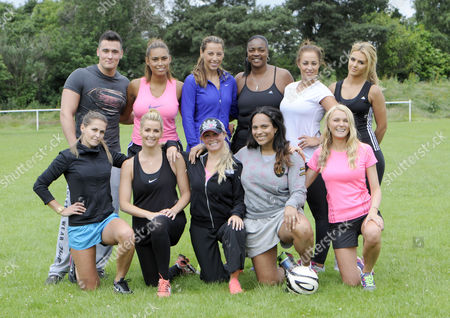 The Team: L-R back row - goalie, Chantelle Tagoe, Danni Lawrence, Shirley Cole, Amber Wheeler and Liz Wheeler; front row - Jude Cisse, Leanne Brown, Jess Lawlor, Magali Gorre and Mhari Oakes