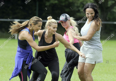 Stock Picture of Danni Lawrence, Leanne Brown, Jessica Lawlor and Magali Gorre
