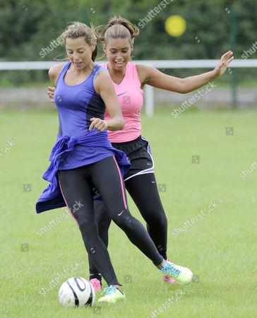Danni Lawlence and Chantelle Tagoe
