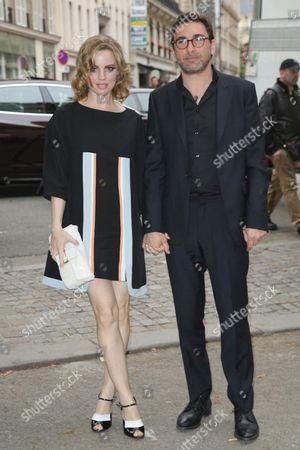 Melissa George and Jean-David Blanc