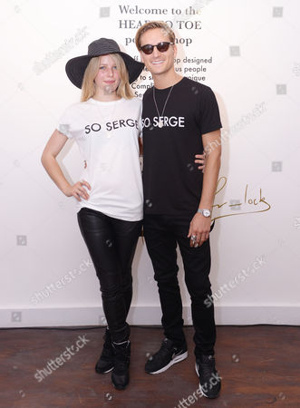 Editorial photo of Head to Toe - Pop-Up Shop Launch Party, London, Britain - 04 Jul 2013