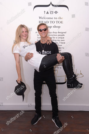 Stock Picture of Lydia Baylis and Oliver Proudlock