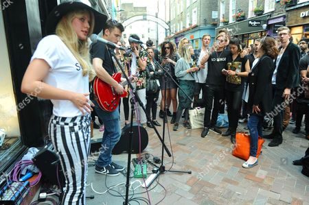 Editorial picture of Head to Toe - Pop-Up Shop Launch Party, London, Britain - 04 Jul 2013