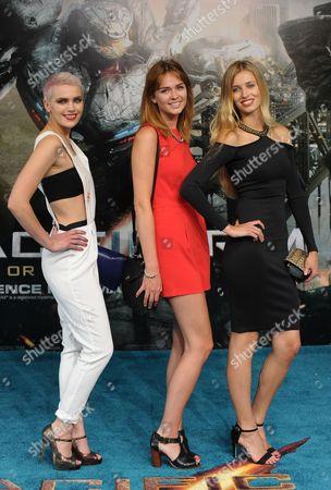 Britain and Irelands Next Top Model Contestants - Emily Garner, Sophie Ellson and Naomi Pelkiewicz