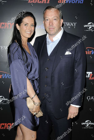 Terry Stone and wife Maxine Caudwell