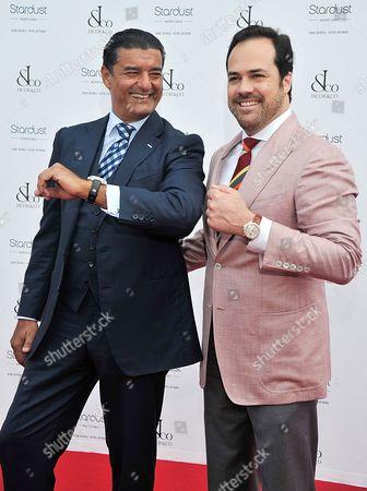 Stock Photo of Jacob Arabo and Chris Del Gatto