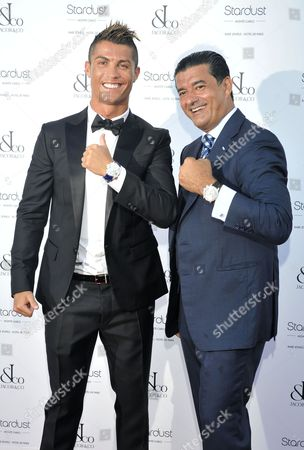 Cristiano Ronaldo and Jacob Arabo