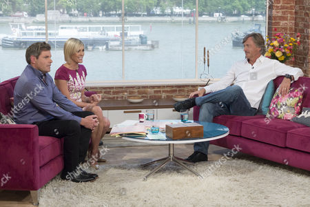 Mark Durden-Smith and Jenni Falconer with Richard Madeley