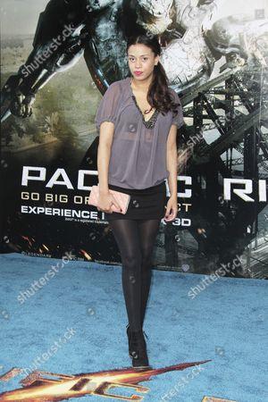 Editorial picture of 'Pacific Rim' film premiere at the BFI Imax, London, Britain - 04 Jul 2013