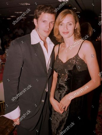 Stock Picture of VANESSA ANGEL AND HUSBAND RICK OTTO
