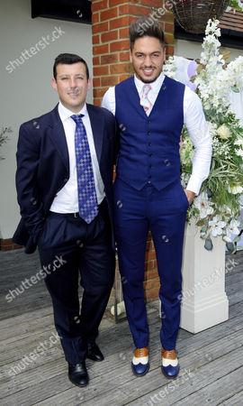 Little Chris Drake and Mario Falcone
