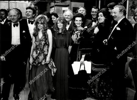Fund Raising Dinner At Manchester's Piccadilly Hotel For The Royal Exchange Theatre In Manchester L-r Casper Wrede Frank Windsor Albert Finney Coral Atkins Anouk Aimee Polly James Michael Meyer Rosalind Knight Alfred Burke Patrick Allen Eleanor Bron And Rupert Davies.