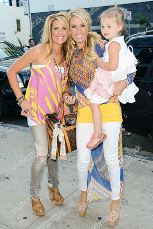 Editorial photo of Stars of Lifetime's Pretty Wicked Moms arrive at Boa Steakhouse in West Hollywood, Los Angeles, America - 07 Jul 2013