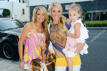 Editorial picture of Stars of Lifetime's Pretty Wicked Moms arrive at Boa Steakhouse in West Hollywood, Los Angeles, America - 07 Jul 2013