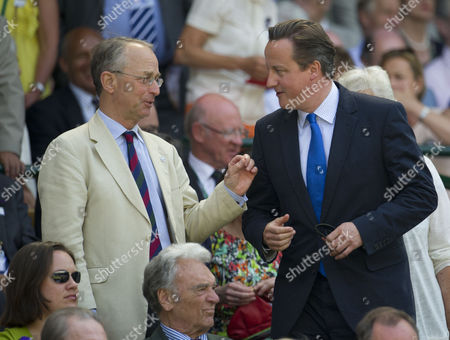 Sir David Richards and British Prime Minister David Cameron