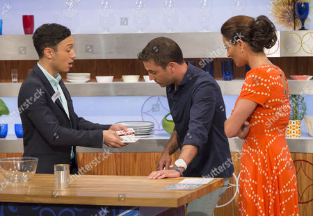 Editorial picture of 'Let's Do Lunch with Gino and Mel' TV Programme, London, Britain - 08 Jul 2013