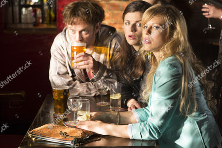 Aisling Bea as Carly, Kelly Adams as Lucy and Sam Troughton as Jeff.
