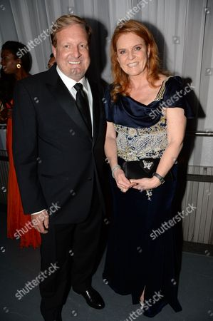 Ron Burkle and Sarah Ferguson Duchess of York