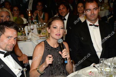 Matt Bellamy, Kate Hudson and Milutin Gatsby