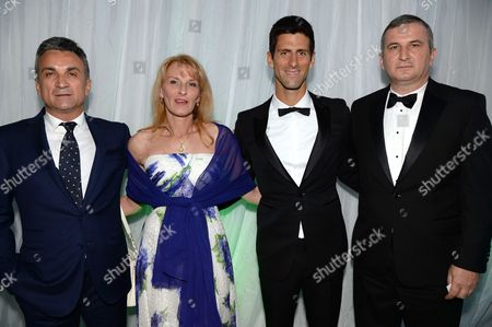Editorial picture of Novak Djokovic Foundation Gala Dinner, London, Britain - 08 Jul 2013