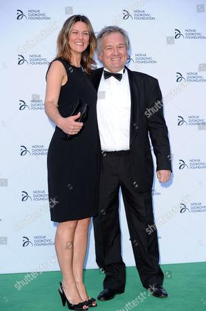 Stock Photo of Brian Rasic and Branislava Rasic