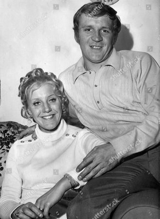 Footballer Francis Lee With Wife Jean Lee At Home In Westhoughton Lancashire.