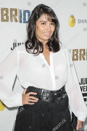 Editorial image of 'The Bridge' TV series premiere, Los Angeles, America - 08 Jul 2013