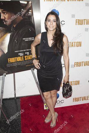 Editorial image of 'Fruitvale Station' film screening, New York, America - 08 Jul 2013