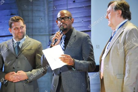 Stock Photo of TC Johnstone, Forest Whitaker and Hans d Orville