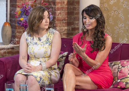 Stock Photo of Rosamund Unwin and Lizzie Cundy