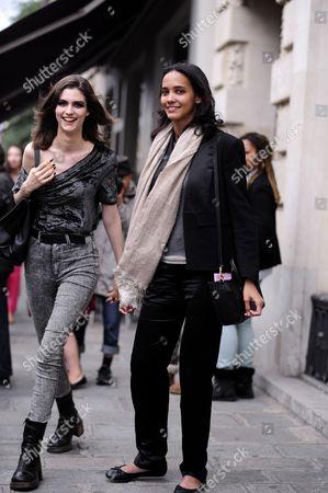 Cora Emmanuel and Manon Leloup