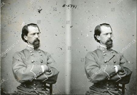 Stock Photo of circa 1860 - General John Brown Gordon, CSA general