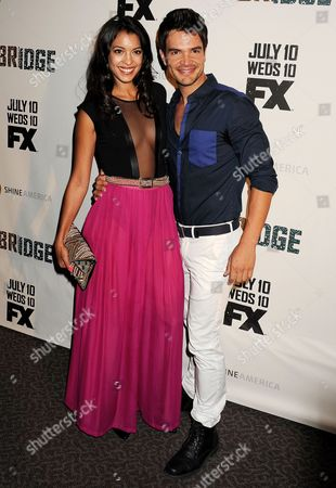 Editorial image of 'The Bridge' TV series premiere, Los Angeles, America - 08 Jul 2013
