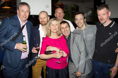 Chris McCalphy (One Round), Sean Folery (Director), Angela Thorne (Mrs Wilberforce), Simon Day (Major Courtney), Con O'Neill (Louis), Ralf Little (Harry Robinson) and John Gordon Sinclair (Professor Marcus)