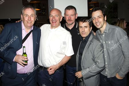 Chris McCalphy (One Round), Simon Day (Major Courtney), John Gordon Sinclair (Professor Marcus), Con O'Neill (Louis) and Ralf Little (Harry Robinson)
