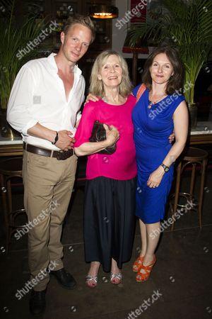 Rupert Penry Jones, Angela Thorne (Mrs Wilberforce) and Dervla Kirwan