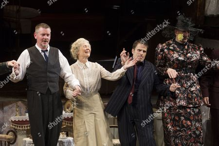 Stock Image of John Gordon Sinclair (Professor Marcus), Angela Thorne (Mrs Wilberforce), Con O'Neill (Louis) and Simon Day (Major Courtney)