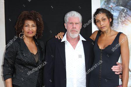 Opal Perlman, Ron Perlman and Daughter Blake Perlman
