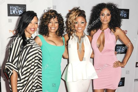 Stock Photo of Dawn Robinson, Michel'le, Chante Moore, Claudette Ortiz