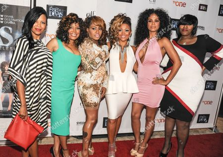 Stock Picture of Dawn Robinson, Michel'le, Lil' Mo, Chante Moore, Claudette Ortiz, Kelly Price