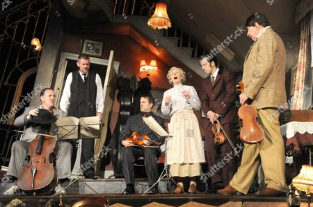 Chris McCalphy as One Round, John Gordon Sinclair as Professor Marcus, Con O'Neill as Louis, Angela Thorne as Mrs Wilberforce, Ralph Little as Harry, Simon Day as Major Courtney
