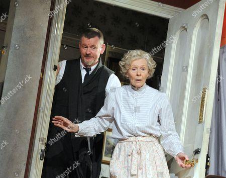 John Gordon Sinclair as Professor Marcus, Angela Thorne as Mrs Wilberforce