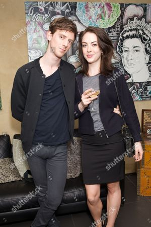 Stock Picture of James Northcote & Elisabeth Popper