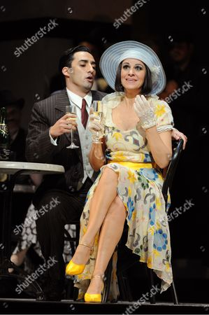 Angela Gheorghiu as Magda, Charles Castronovo as Ruggero
