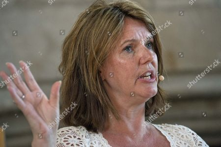 Editorial picture of Paula Byrne, Dartington, Totnes, Devon, Britain. - 06 Jul 2013
