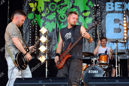 "Steve Leonard and Rob ""Pacey"" Prestage of Faith n Fury performing at the Danson Festival, Bexleyheath, London"
