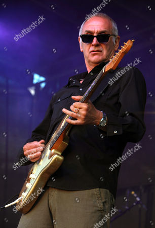 Editorial image of Kirby Gregory performing with his band En Masse at Fortismere School Playing Fields, London, Britain - 06 Jul 2013