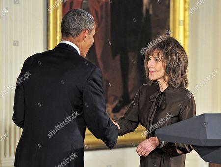 Barack Obama and Elaine May